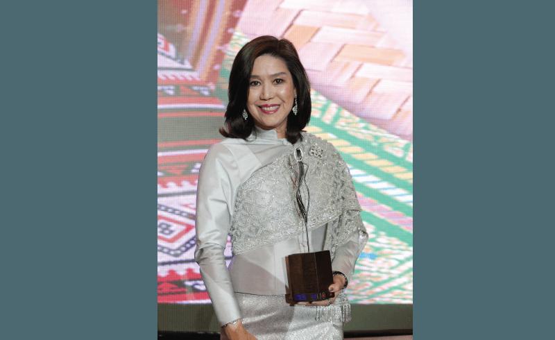 """รางวัล """"ผู้ประกอบการสตรีไทย ที่มีผลงานโดดเด่นในอาเซียน ประจำปี 2560"""""""